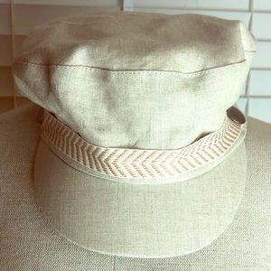 Anthropologie Genie Eugenia KIM Khaki Brixton hat